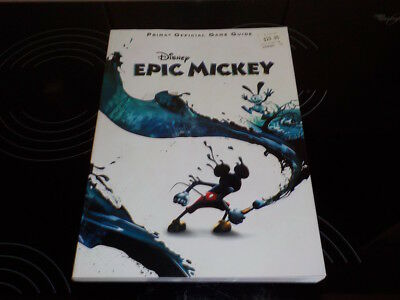 Disney Epic Mickey Prima Official Game Guide - Never Used