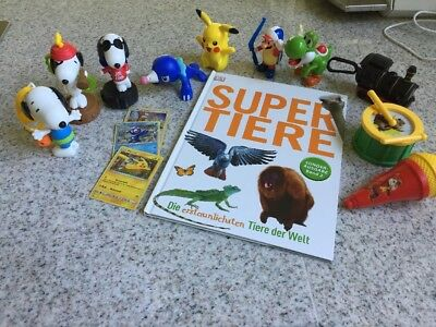 Mc Donalds Snoopy Peanuts Burger King Pokémon Jim Knopf Joshi Super Mario Buch