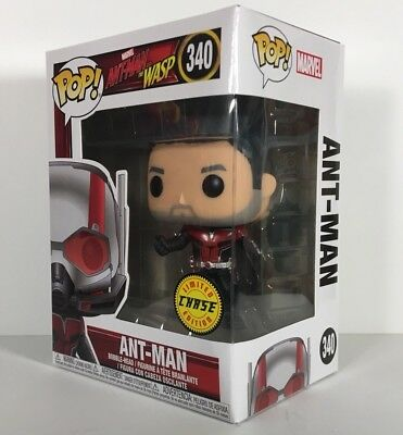 Funko Pop Ant-Man And The Wasp ANT-MAN UNMASKED CHASE 340 New In Hand