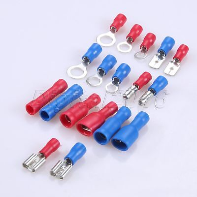 360PCS Assorted Insulated Electrical Connectors Crimp Terminals with Plastic box