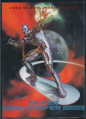1993 Marvel Masterpieces Trading Card #11 Silver Surfer