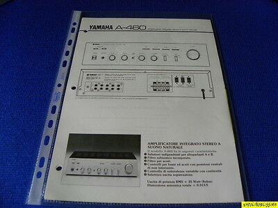 Original Reference Guide for Yamaha A-460