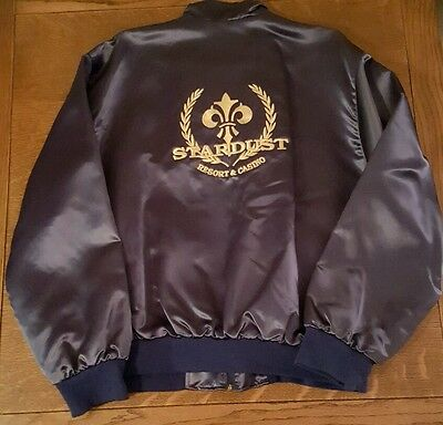 Vintage Stardust Resort Casino Las Vegas satin jacket new with tags