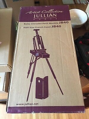 Jullian French Painting Easel NEW in box