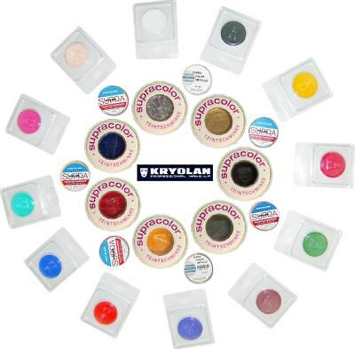 KRYOLAN SUPRACOLOR 4 8 o 30 ml cialda trucco professionale teatrale make-up