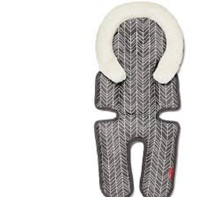 Skip*Hop Stroll and Go Cool Touch Infant Support in Feather Grey