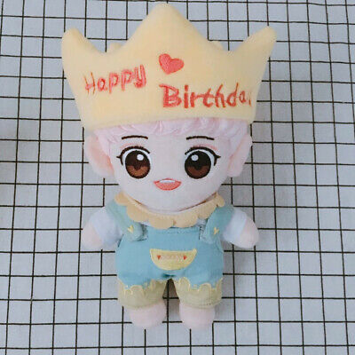 KPOP EXO Plush Happy Birthday 6-year-old Park Chanyeol Doll Toy Gift【in stock】
