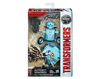 Transformers Autobot Sqweeks - The Last Knight Premier Deluxe Eddition (1472G)