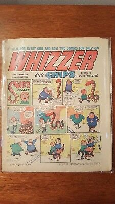 Original Whizzer and Chips Comic: 1970, August 08th Edition