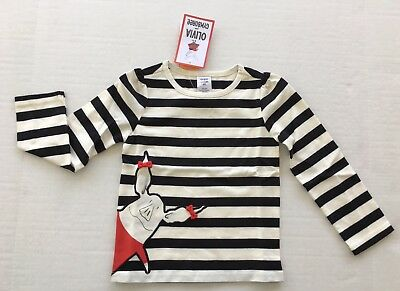 GYMBOREE OLIVIA COLLECTION OLIVIA IN THE CITY L//S TEE 6 12 18 24 2T 3T NWT