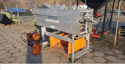 GEDA LIFT HOIST 280KG CONVEYOR like BUMPA Tile conveyor 16 meters