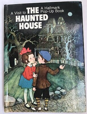 VISIT TO THE Haunted House Hallmark Pop-up Book HC Dean Walley Arlene Noel