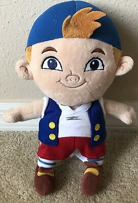 Disney Store Authentic CUBBY Jake and the Neverland Pirates Plush Stuffed Toy