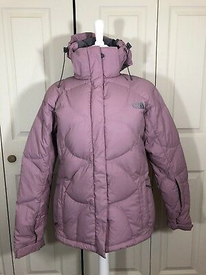 fa521a74577 The North Face Women s Goose Down 600 Snow Hooded Coat Jacket sz Large ...