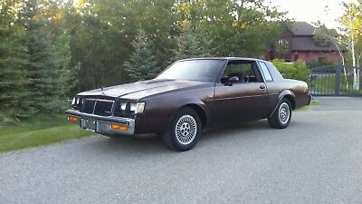 1985 Buick Grand National T-Type 1985 Buick Regal T-Type.  UNRESERVED !!!