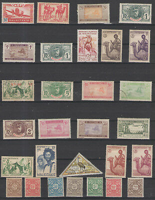 Stamps  Mauritania 29Pc Lot