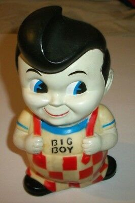 """BIG BOY Restaurant Rubber Bank 8 1/2"""" Tall Vintage See Pic's!"""