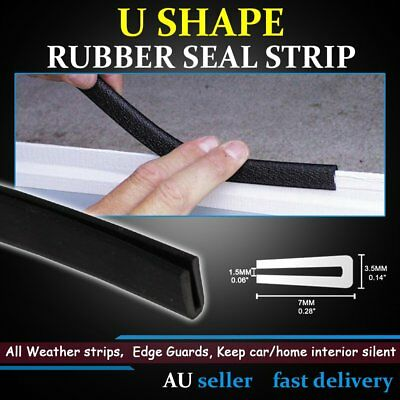 Rubber Trim Seal For Car Doors Tailgate Weatherstrip Edge Trim Strips Protector