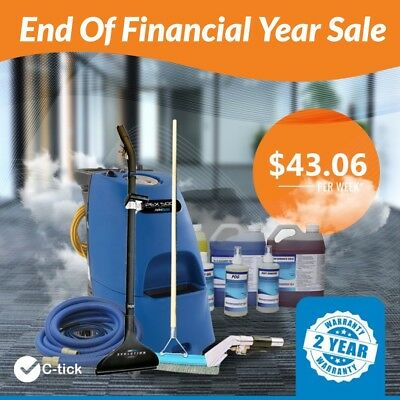 END OF FINANCIAL YEAR SALE Pex 500 Carpet Steam Cleaning Equipment