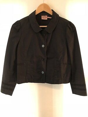 JUICY COUTURE Girls 8 Black Blazer