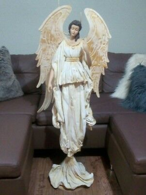 Huge Beautiful Peaceful Religious Angel God Jesus Mary Statue 1.2metres tall