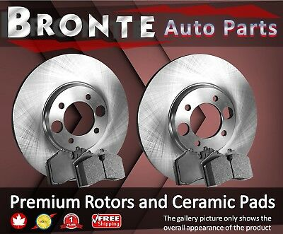2008 2009 2010 for Ford F-250 Super Duty 4WD Brake Rotors and Ceramic Pads Front