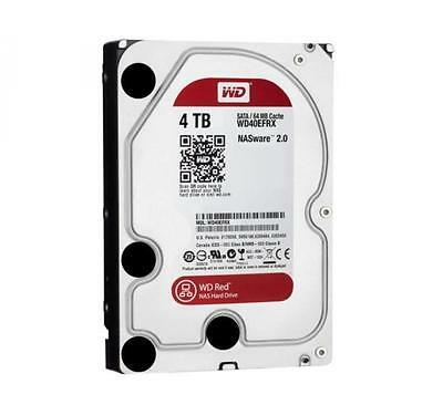 "Western Digital Red NAS 4 TB Internal 5400 RPM 3.5"" Hard Drive -WD40EFRX NAS (Ne"