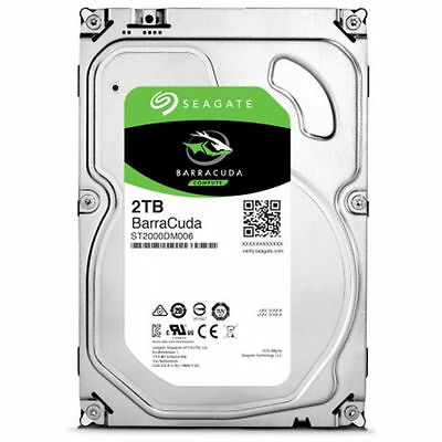 "Seagate BarraCuda 2 TB Internal 3.5"" Hard Drive -ST2000DM006"
