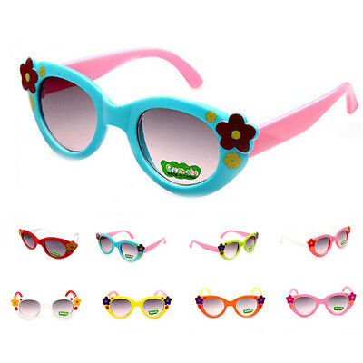 Glasses Boys Children 8 Colors Lovely Sunglasses Kids Baby Fashion ANTI-UV Girls
