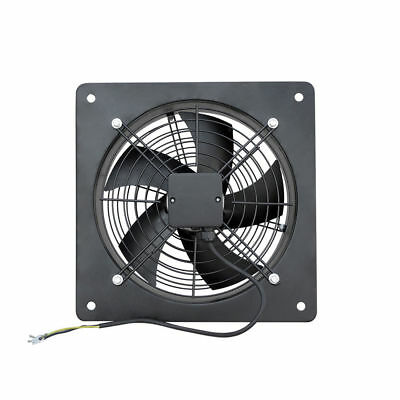 Axial Extractor Fan with Plate Metal Carbon Axial Commercial Ventilator