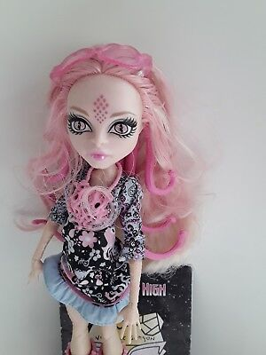 Viperine Gorgon Frights Camera Action Monster High doll excellent used condition