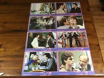 The Pope Of Greenwich Village-Lobby cards/ Poster-Mickey Rourke-Eric Roberts
