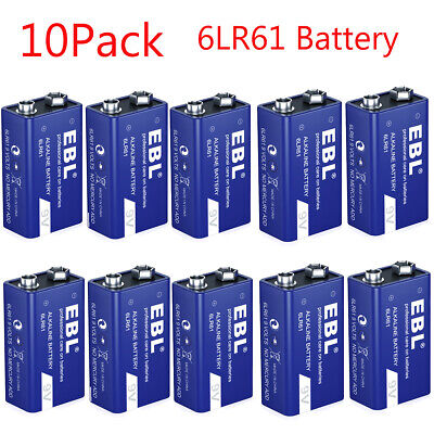 10 Pack AG3 LR41 384 392A 192 LR736 1.5V Alkaline Coin Button Cell Battery Watch