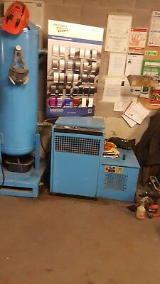 CompAir 6000E Screw Compressor and dryer