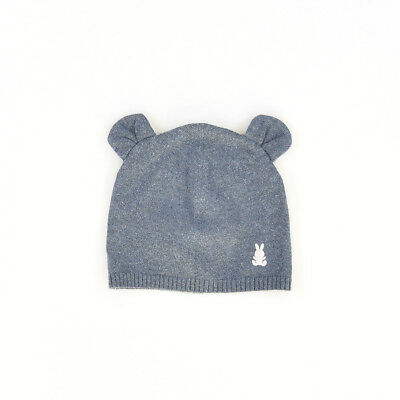 Gorro color Azul marca Benetton 6 Meses