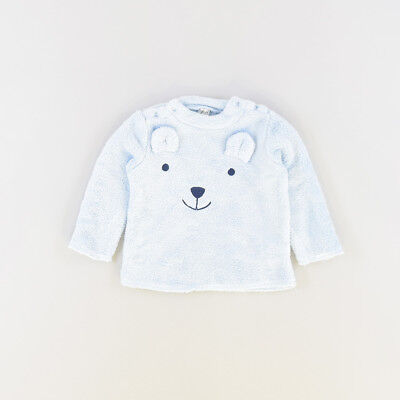 Jersey color Azul marca ZY 6 Meses