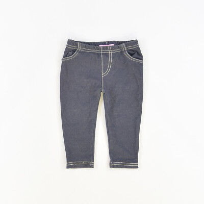 Leggins color Denim oscuro marca Young Dimensión 9 Meses