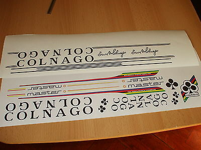 Colnago Master Frame Decal Set