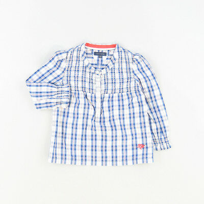 Camisa color Azul marca Tommy Hilfiger 12 Meses  509837