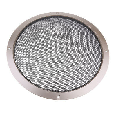 "10"" Speaker Decorative Circle Grill Cover Guard Protector Mesh Gold"