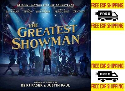 The Greatest Showman [Audio CD] ( Pop &  Soundtracks) FREE SHIPPING NEW