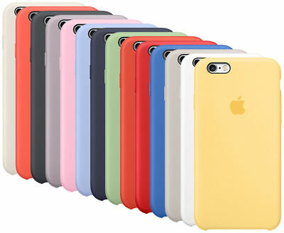 Original Case For Apple iPhone 6 6S 6 Plus 6S Plus Silicone Case Cover Genuine