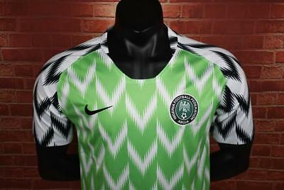 OFFICIAL Nigeria 2018 Men's Nike World Cup Shirt NEW UK SELLER FAST DISPATCH