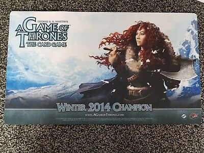 A Game of Thrones Winter 2014 Champion Playmat