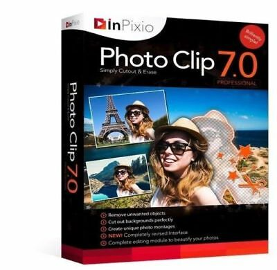 InPixio Photo Clip 7 Full Version | Photo Image Editor ⭐Digital Download⭐