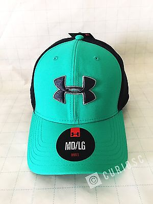 UNDER ARMOUR MEN S Sportstyle Mesh Cap baseball sport high crown ... 4df1b6bec2d2