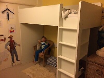 Ikea Childs Bed Desk Wardrobe And Drawers Combo Fritids