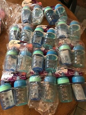 New in Packages Lot Of 11 2 Packs 22 Total AVENT 9 Oz Sippy Spout Cups