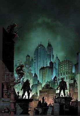 Teenage Mutant Ninja Turtles Urban Legends #1 Planet Awesome Joel Gomez Variant