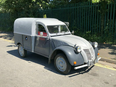 1957 Citroen AZU Fourgonnette Van. Last Owner 18 Years
